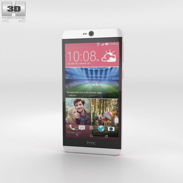 HTC Desire 826 Purple Fire - 3DOcean Item for Sale