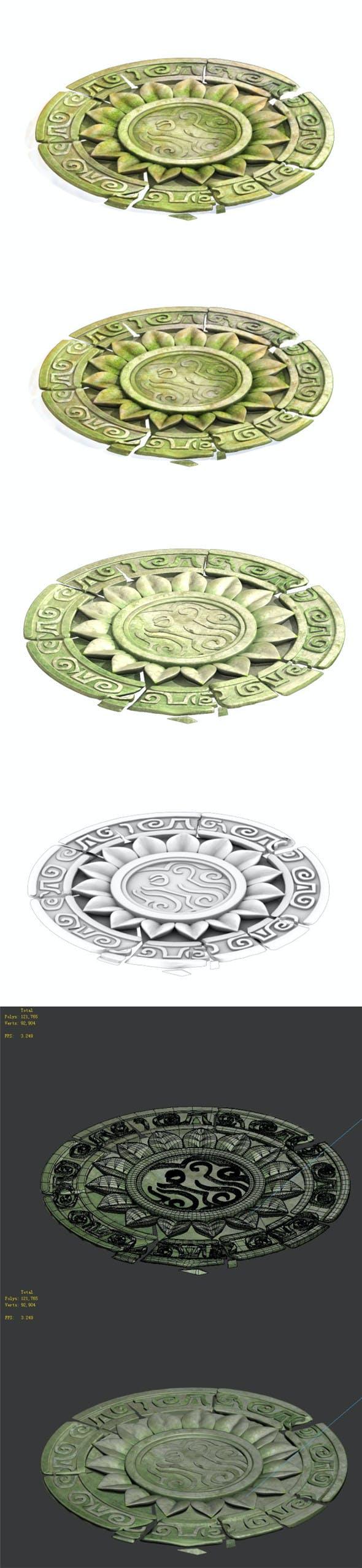 Central disc - 3DOcean Item for Sale