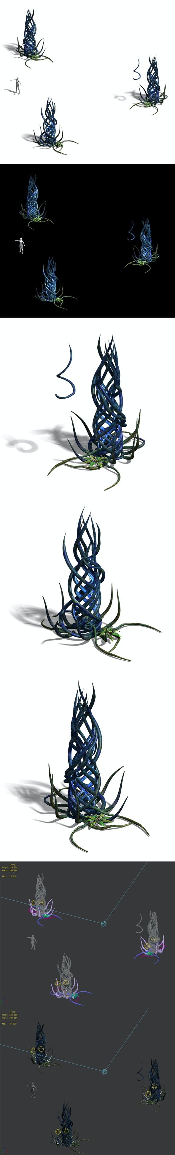 Elven Forest - Supernatural Flowers 03 - 3DOcean Item for Sale