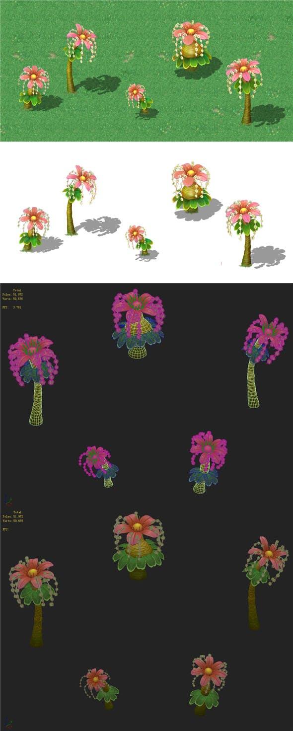 Cartoon Edition - Braids 02 - 3DOcean Item for Sale