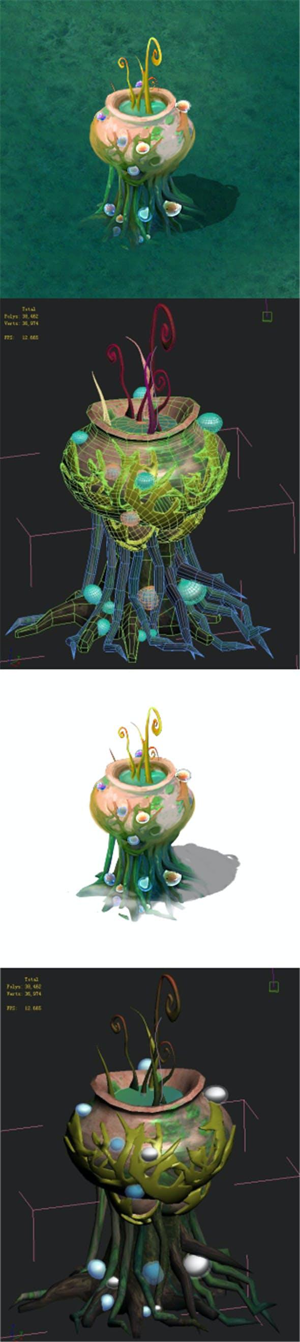 Cartoon version - petrol spores 04 - 3DOcean Item for Sale