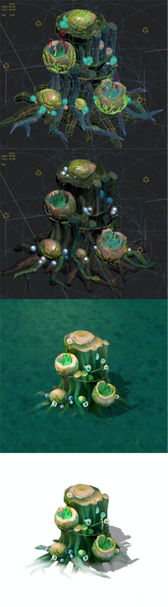 Cartoon version - petrol spores 06 - 3DOcean Item for Sale