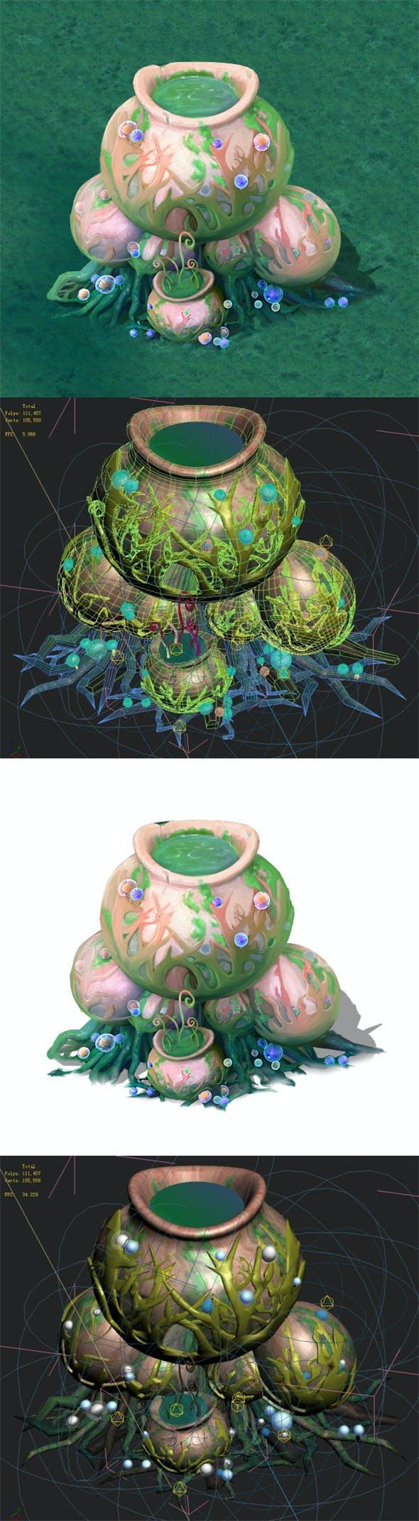Cartoon version - petrol spores 07 - 3DOcean Item for Sale