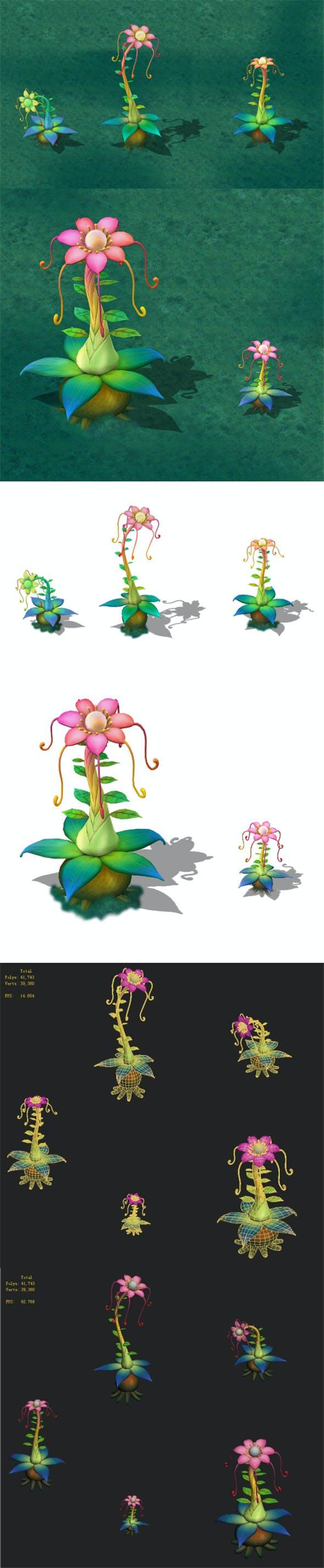 Cartoon version - Prophet magic flower - 3DOcean Item for Sale