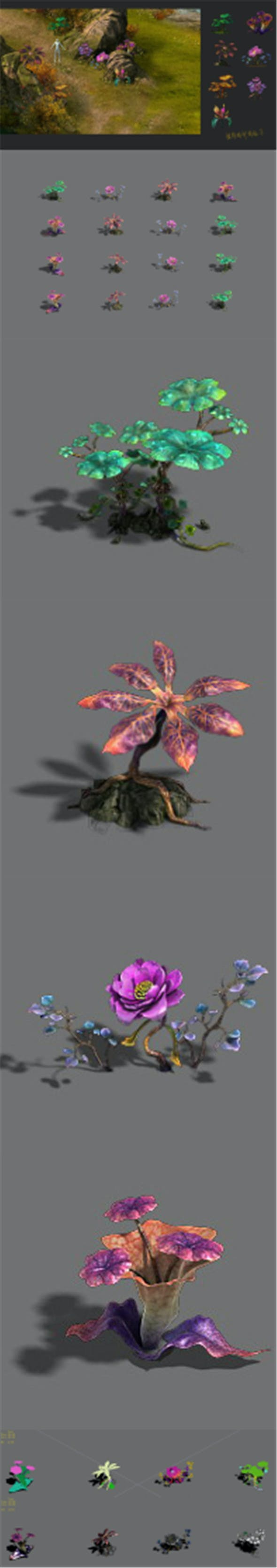 Exotic - flower 3 - 3DOcean Item for Sale