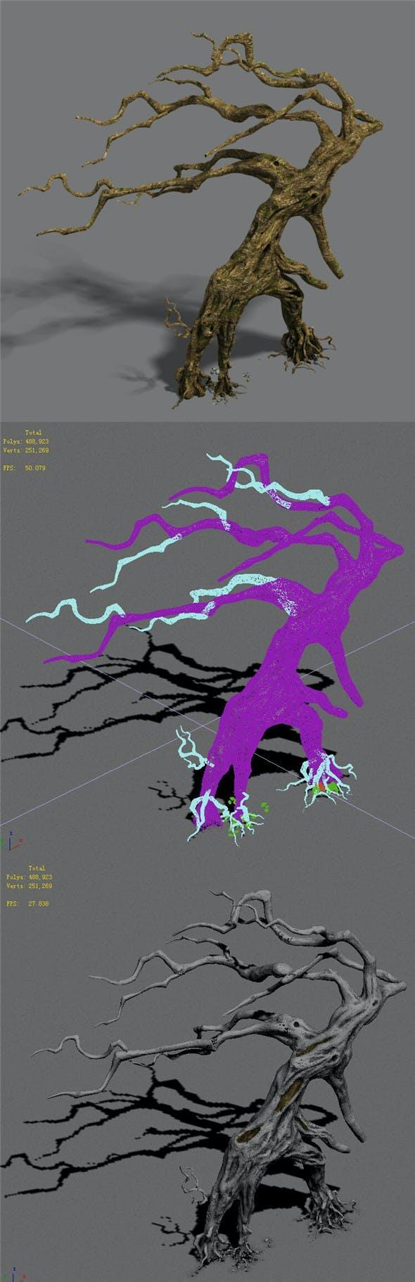 Strange - dead tree - 3DOcean Item for Sale