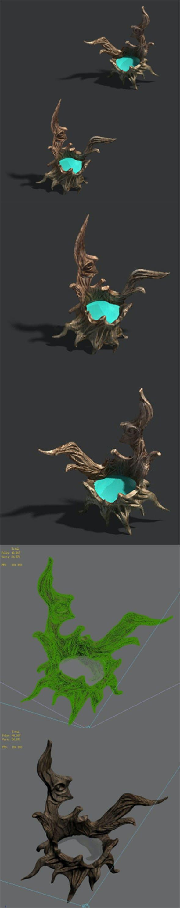 Xinshoucun - root - light - 3DOcean Item for Sale