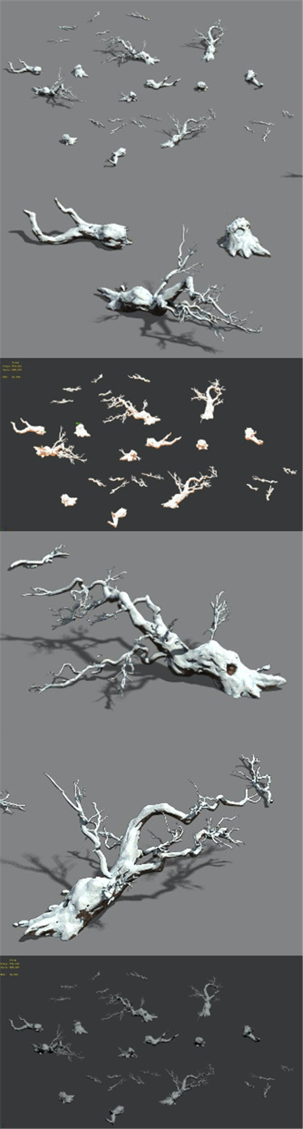 Snow - fallen to the ground - 3DOcean Item for Sale