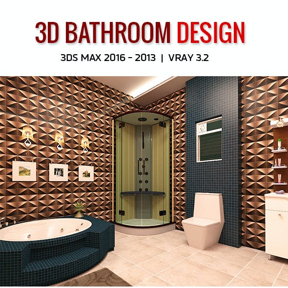 3D Bathroom Design