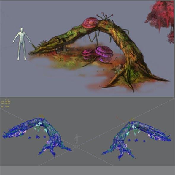 Plant - dead tree 2