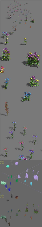 Plant - flowers - 3DOcean Item for Sale