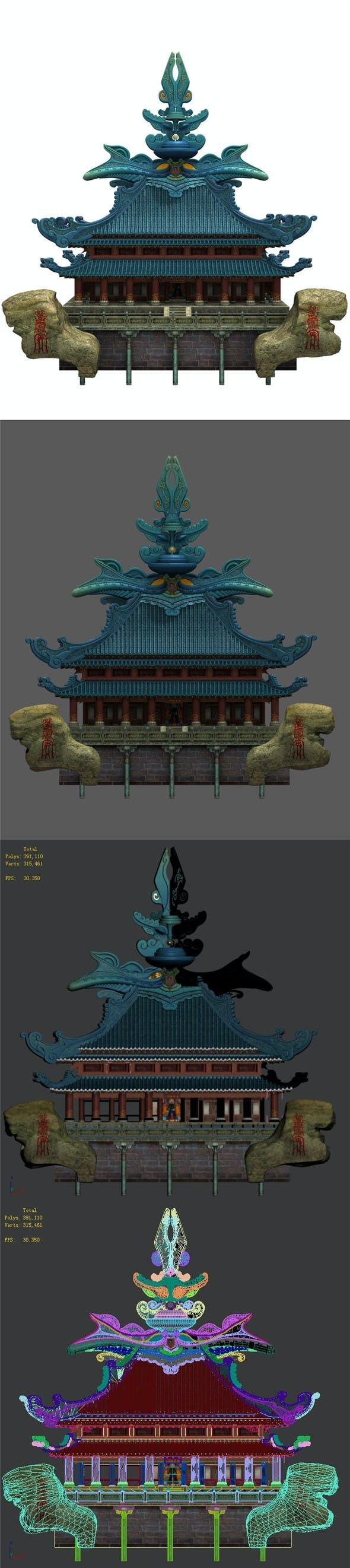 3D selection - interface building - 3DOcean Item for Sale