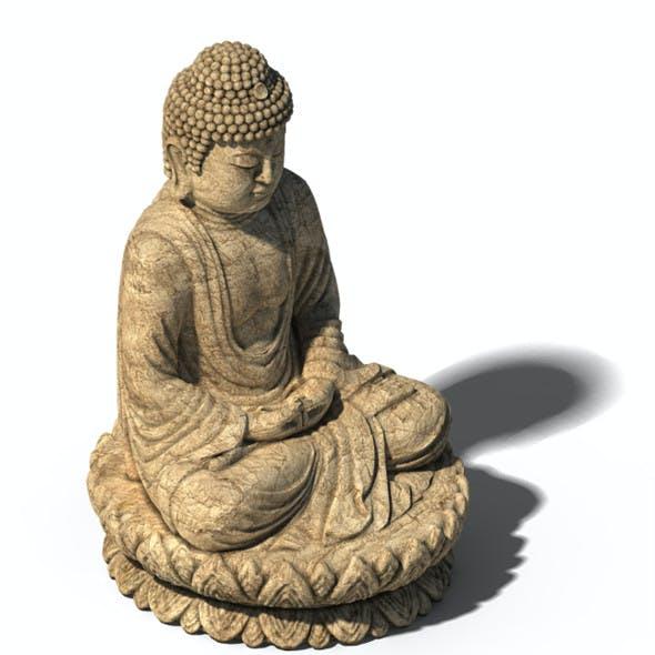 White Chishan Buddha 02