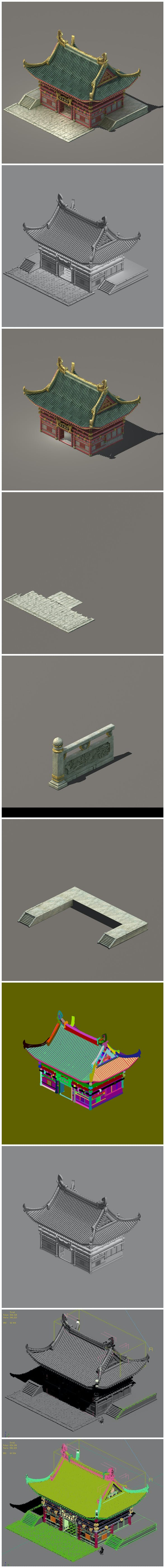 City Building - Escort 032 - 3DOcean Item for Sale