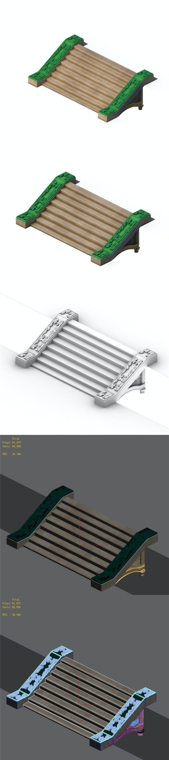 The surface - wonderful fantasy - steps 01 - 3DOcean Item for Sale