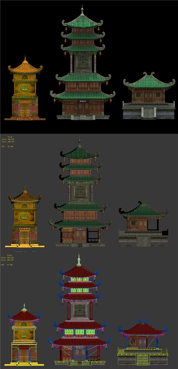 Cave - System Building 03 - 3DOcean Item for Sale