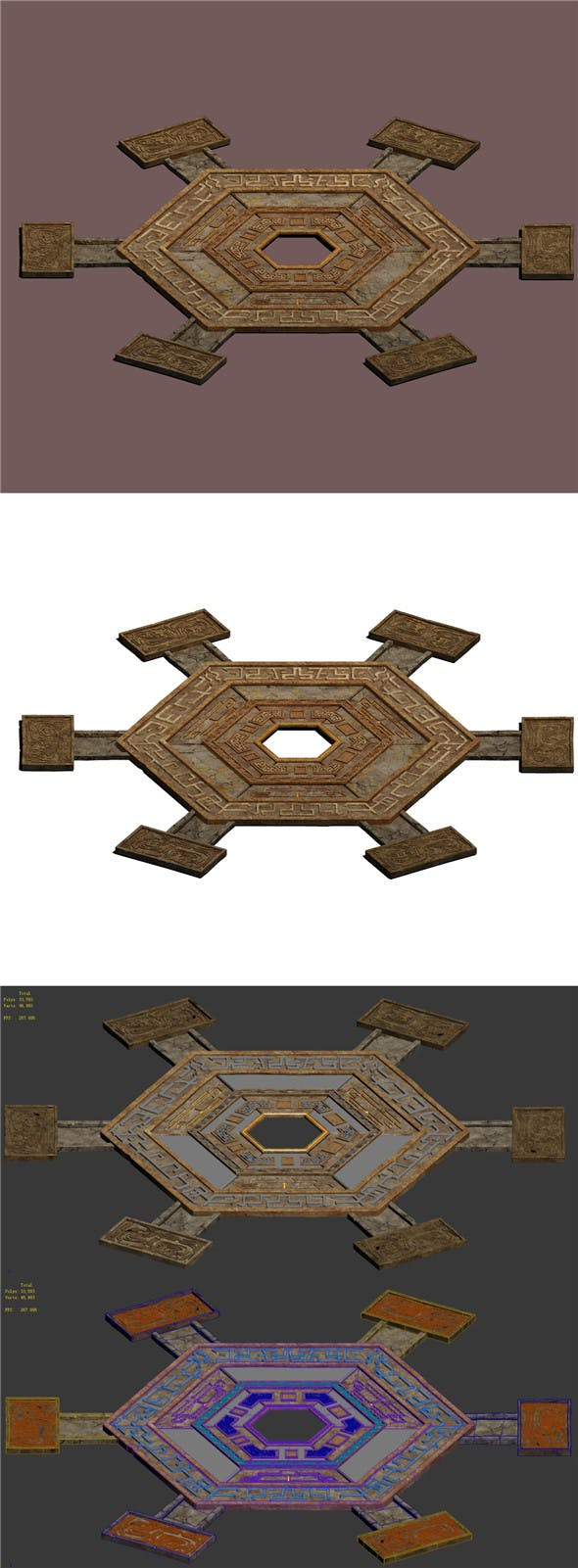 Royal City tomb - raid space Chuansong Zhen - 3DOcean Item for Sale