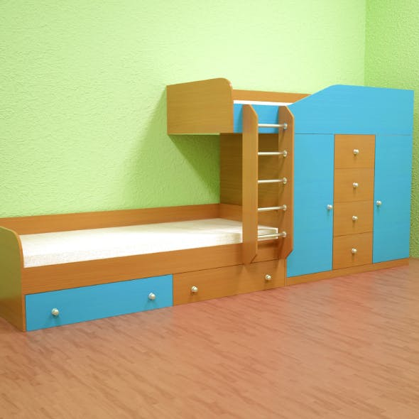 Childrens bed - M517