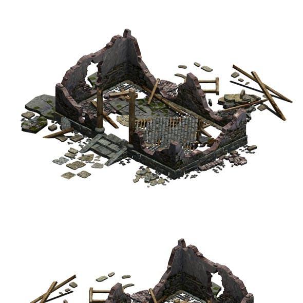 Buildings - ruins 002