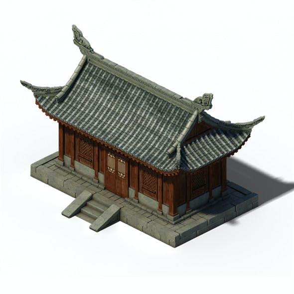 Architecture - Windy Grassland Building 01