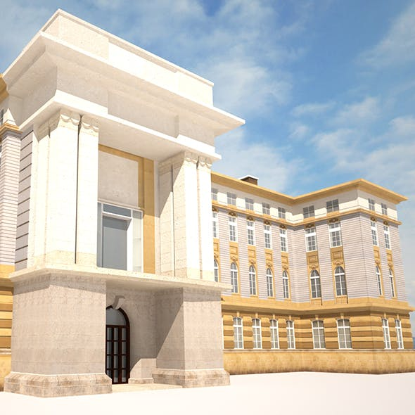 Neoclassical Building 164
