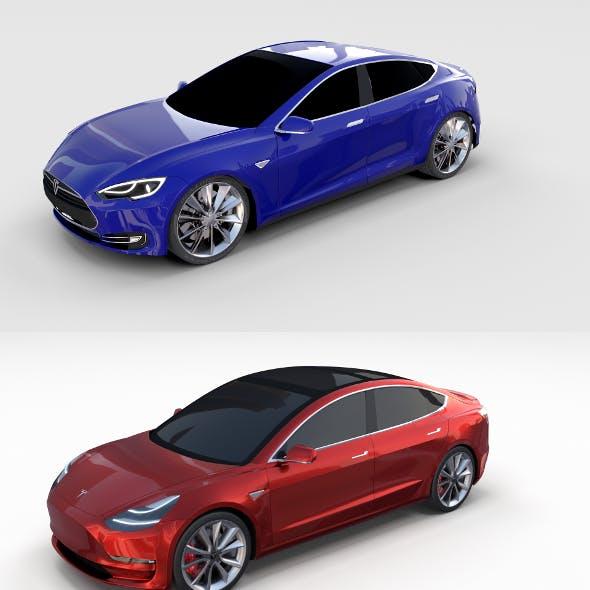 Tesla Model 3 and Model S Pack