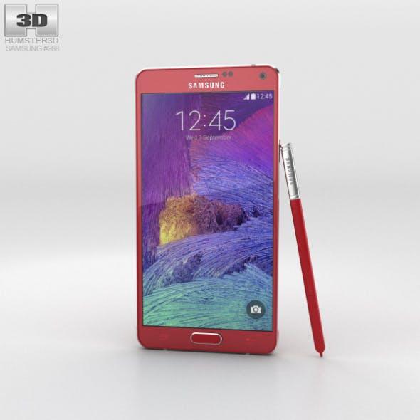 Samsung Galaxy Note 4 Velvet Red