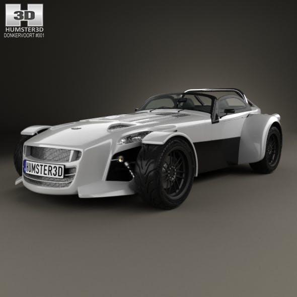Donkervoort D8 GTO 2013 - 3DOcean Item for Sale