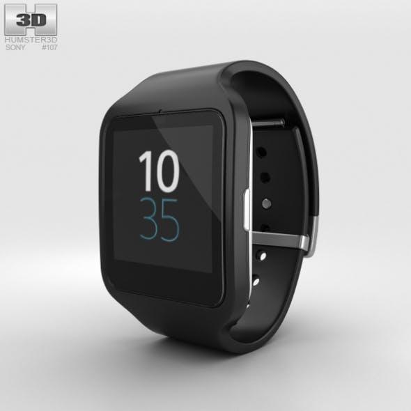 Sony SmartWatch 3 SWR50 Black - 3DOcean Item for Sale