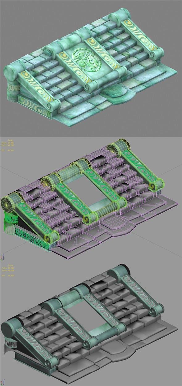 Cartoon World - Ladder 15 - 3DOcean Item for Sale