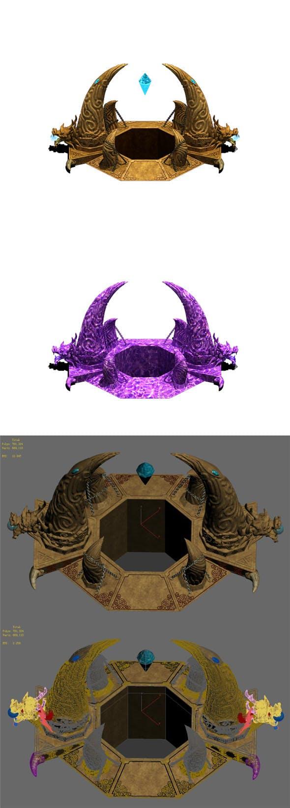 Lingquan - spring eyes - 3DOcean Item for Sale