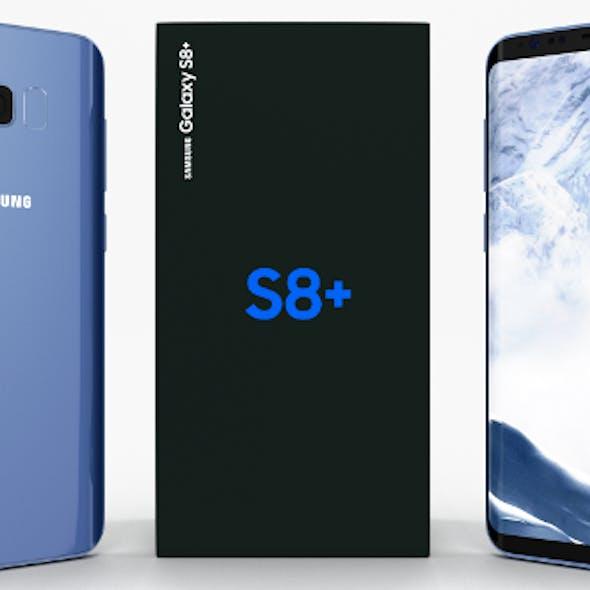Samsung Galaxy S8+ Coral Blue