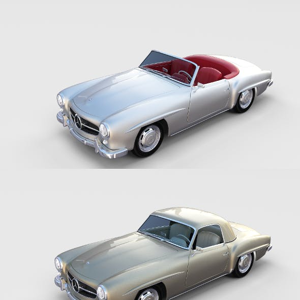 Mercedes 190SL with interior Pack
