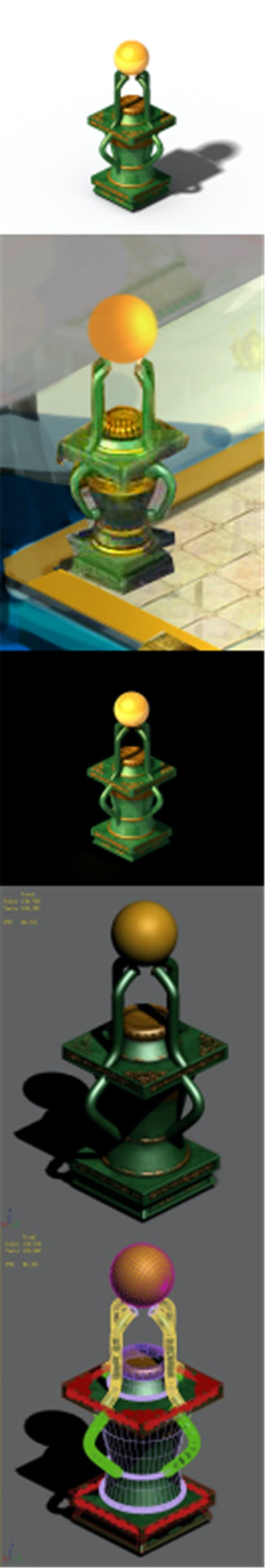 Wonderful fantasy - decorative lights - 3DOcean Item for Sale