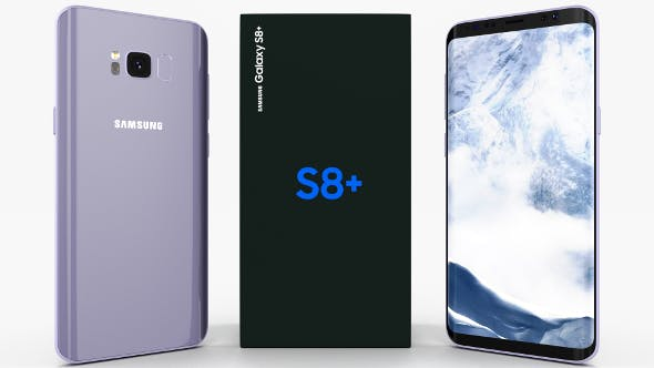 Samsung Galaxy S8+ Orchid Gray - 3DOcean Item for Sale