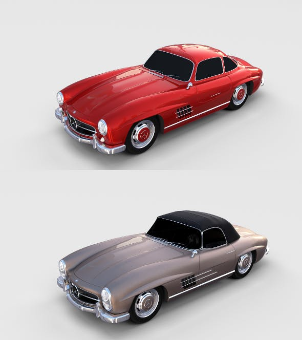 Mercedes 300SL Pack - 3DOcean Item for Sale