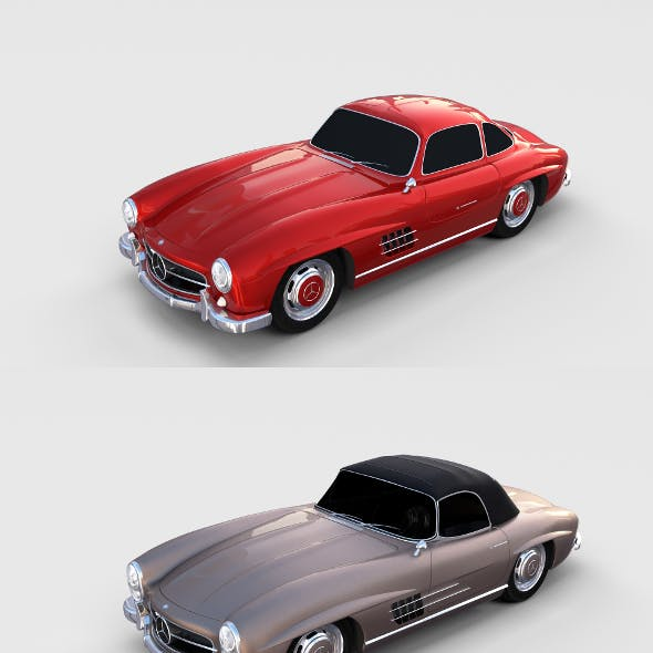 Mercedes 300SL Pack