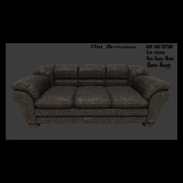Armchair_1 - 3DOcean Item for Sale