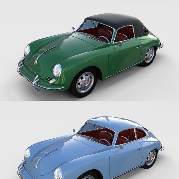 Porsche 356 with interior Pack
