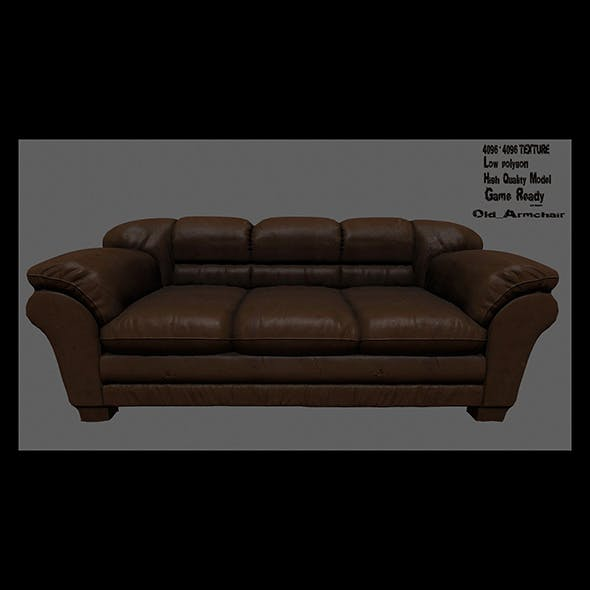 Armchair_6 - 3DOcean Item for Sale