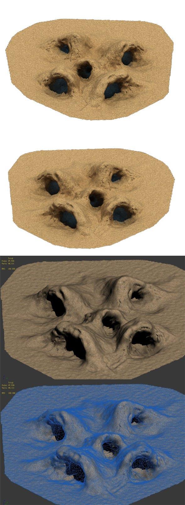 Desert - Monster Nest 4 - 3DOcean Item for Sale