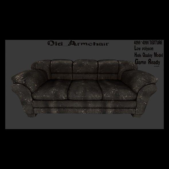 Armchair_11 - 3DOcean Item for Sale