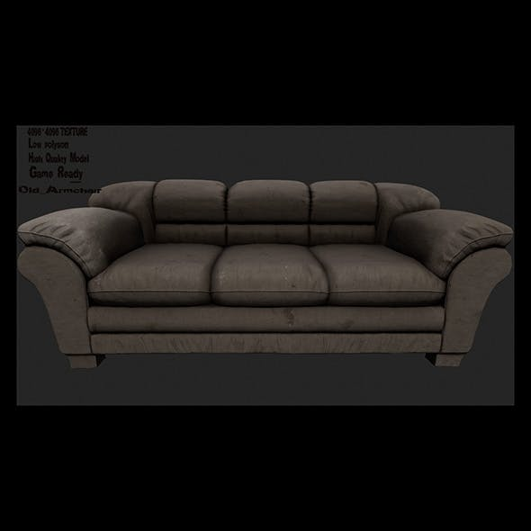 Armchair_14 - 3DOcean Item for Sale