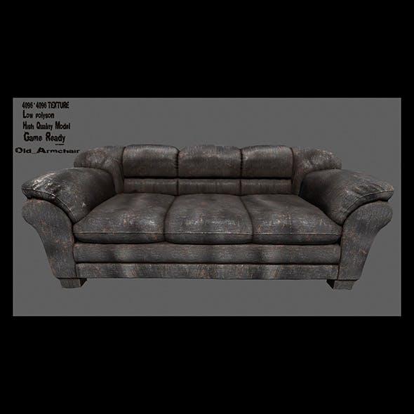 Armchair_15 - 3DOcean Item for Sale