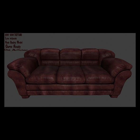 Armchair_17 - 3DOcean Item for Sale
