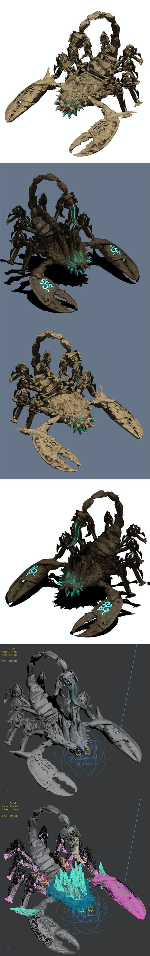 Desert - Scorpio - 3DOcean Item for Sale