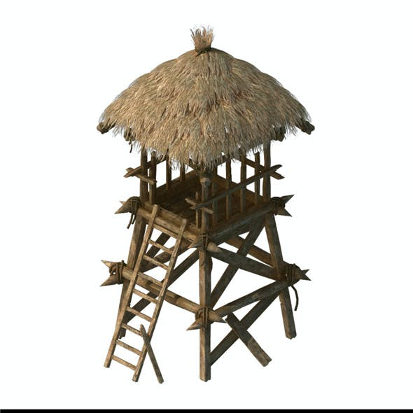 Cottage tribe - watchtower 01