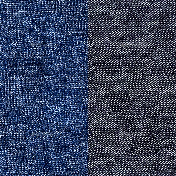 Denim Seamless Texture( Blue, Black)