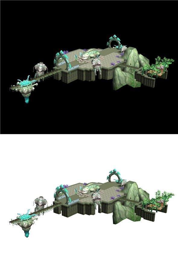 Game - Copy Scene - 3DOcean Item for Sale