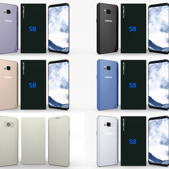Samsung Galaxy S8 Pack